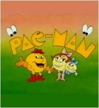 pac-man desssin animé hanna barbera